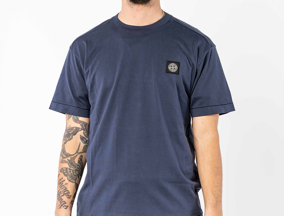 Stone Island Compass T-shirt In Navy