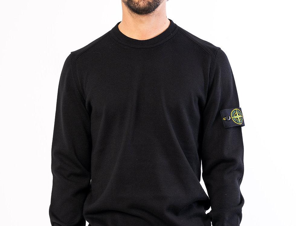 Stone Island crew neck knit In Black