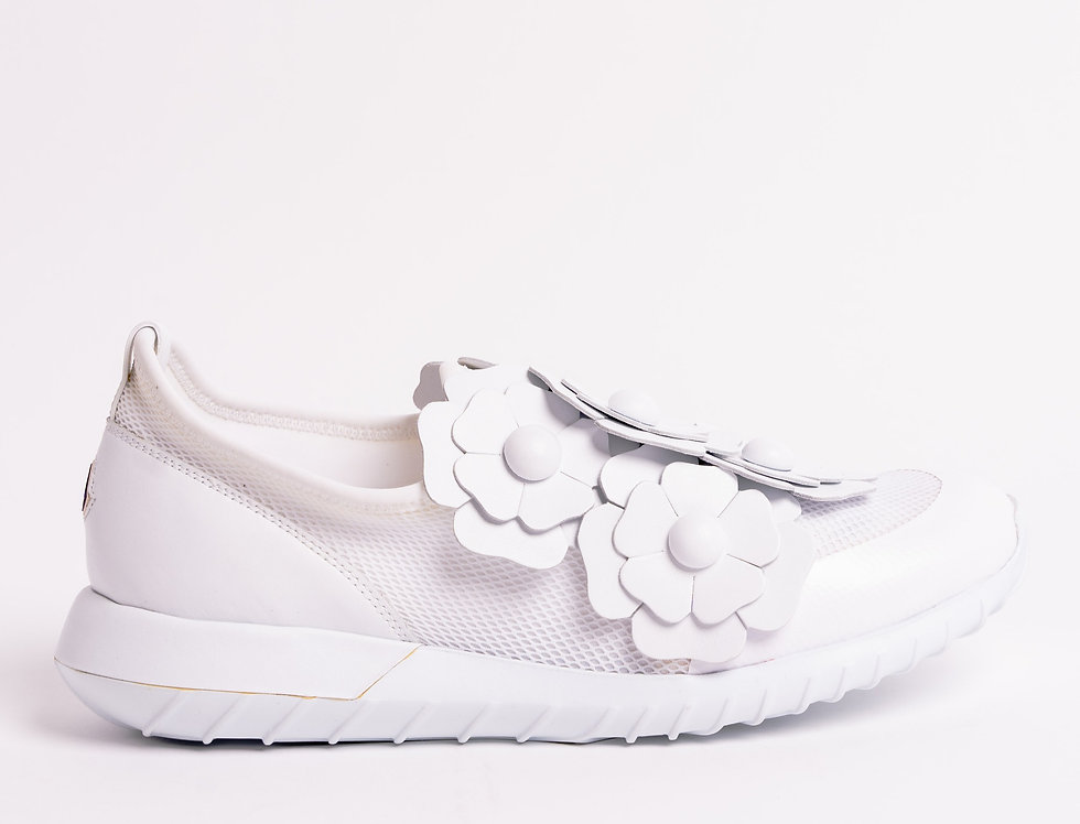 Moncler Emy Sneakers In White