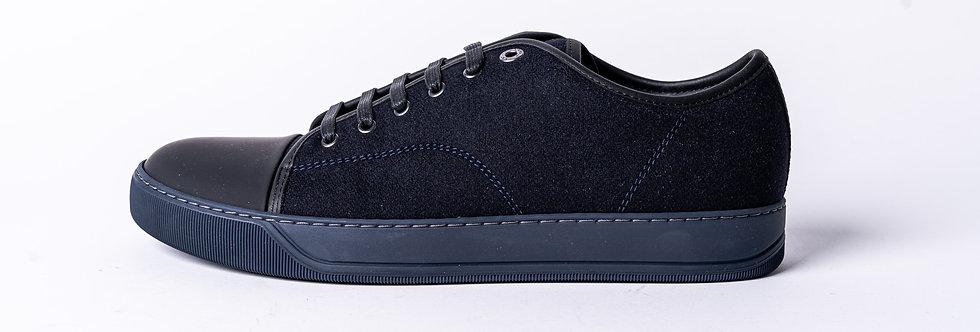 Lanvin Wool Pump Sneakers side view