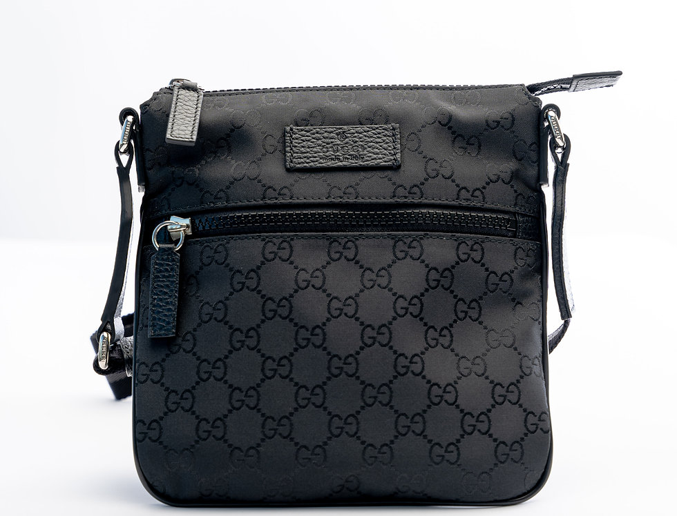 Front of Gucci bag