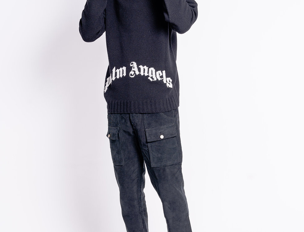 Palm Angels Roll Neck In Black