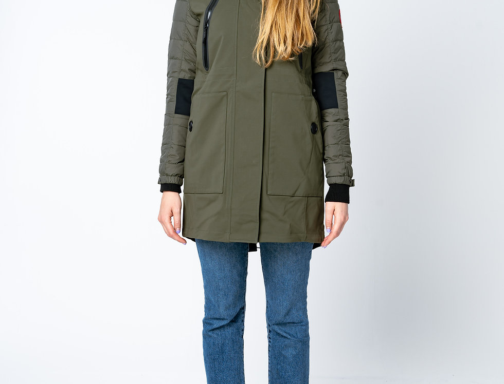Canada Goose - Sabine Coat In Dark Sage