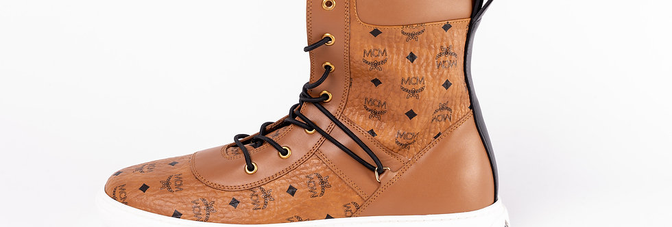 MCM High Top Trainers side view