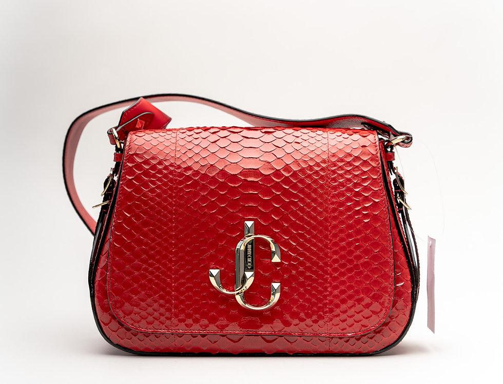 Jimmy Choo Varenne/XB Crossbody Bag in Red Python