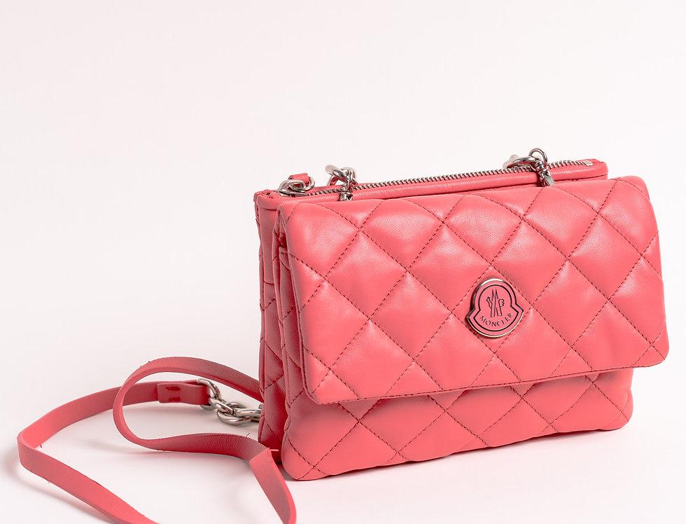 Moncler Poppy Bag In Pink
