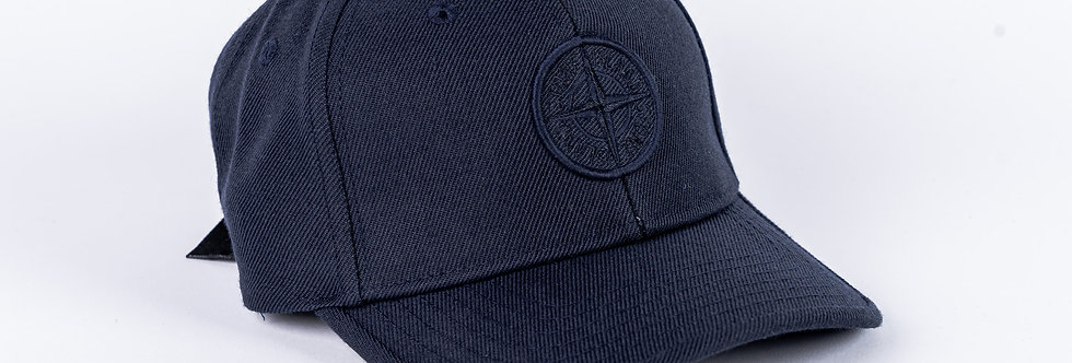 Stone Island Junior Navy Cap
