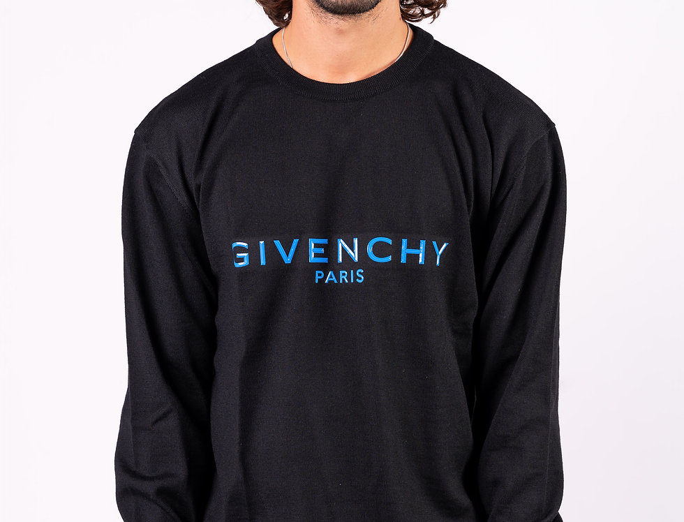 Givenchy Sweatshirt In Black front view