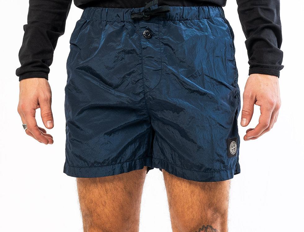 Stone Island Nylon Metal Shorts in Dark Navy