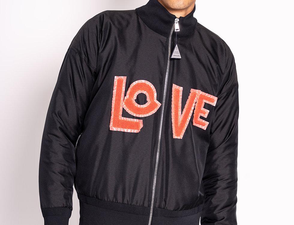 Moncler 'Love' Bomber Jacket
