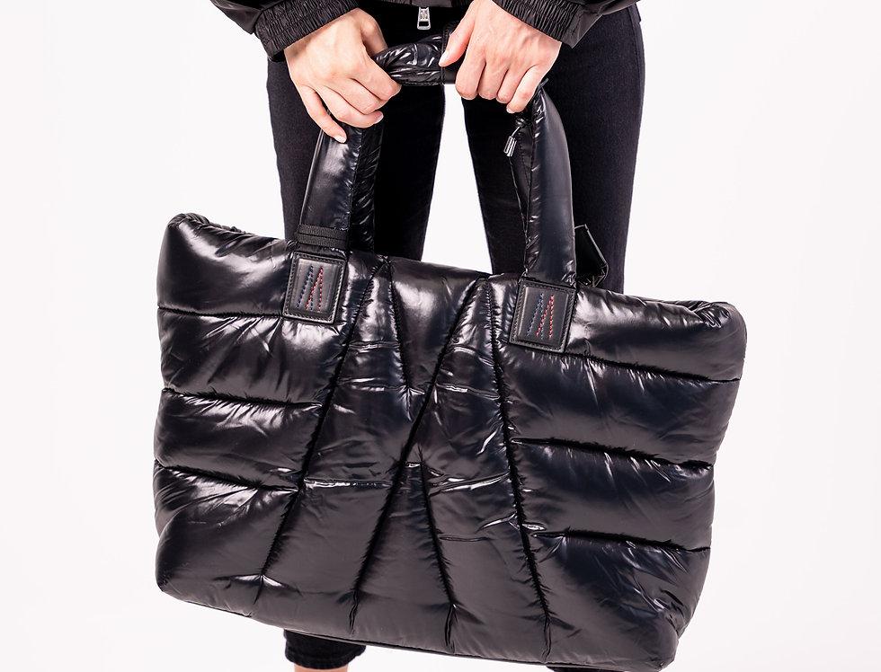 Moncler Black 'Powder' Bag