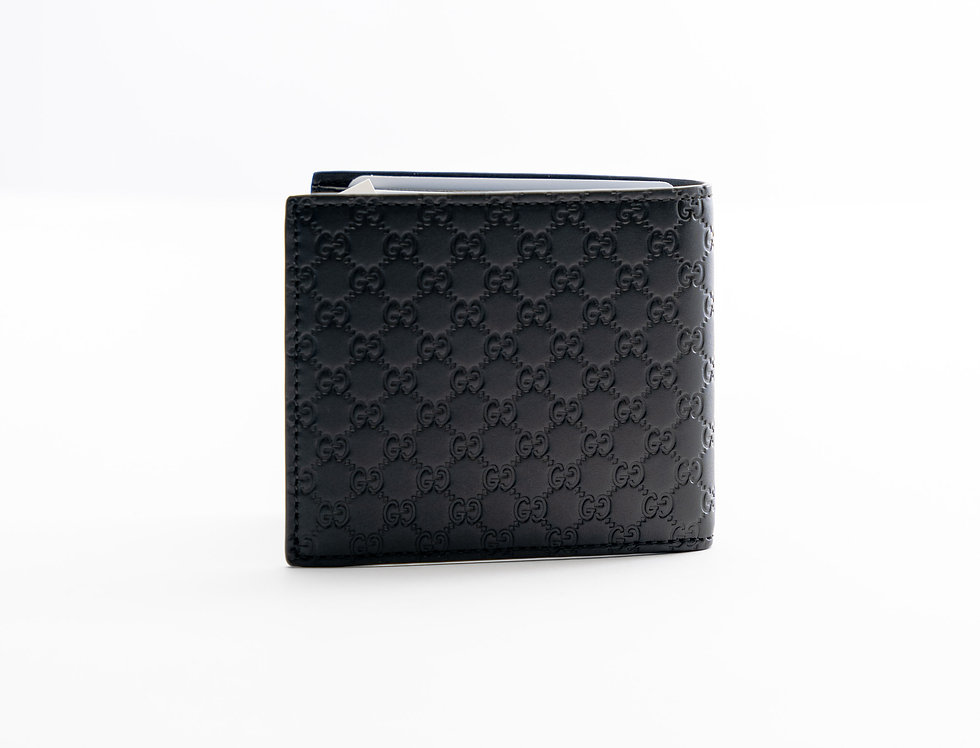 Gucci Leather Wallet In Brown