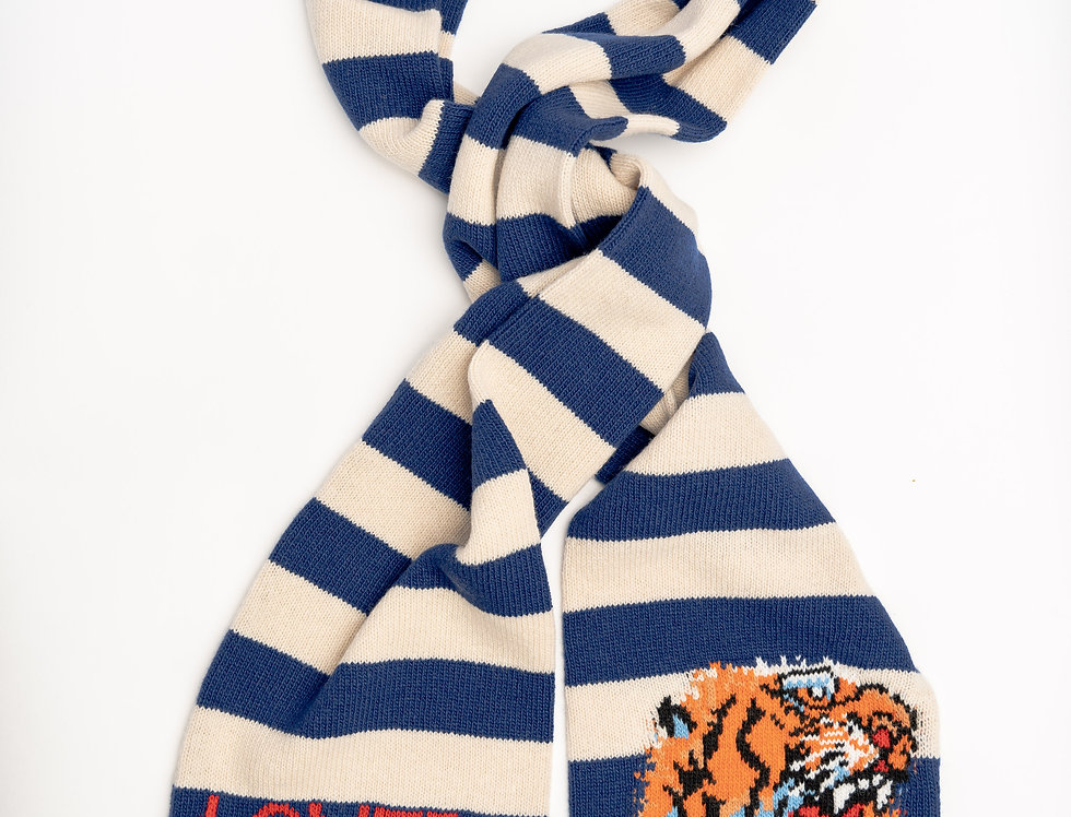 Gucci 'Loved' Striped Scarf