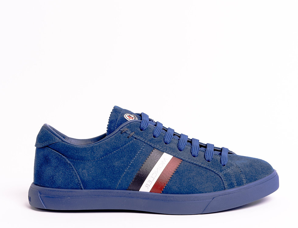 Moncler LA Monaco Sneakers In Blue
