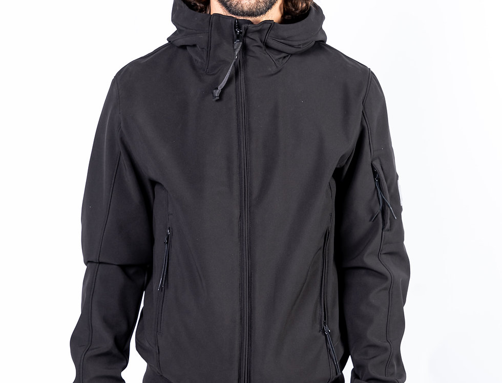 C.P. Company Soft Shell Jacket front view