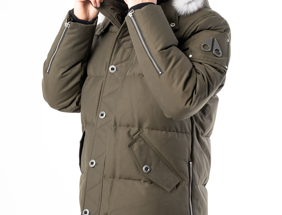 Moose Knuckles 3Q Jacket In Army Green
