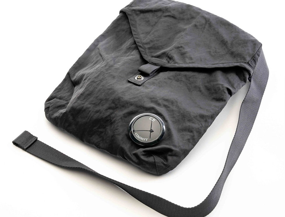 C.P. Company AW20 Black crossbody messenger bag