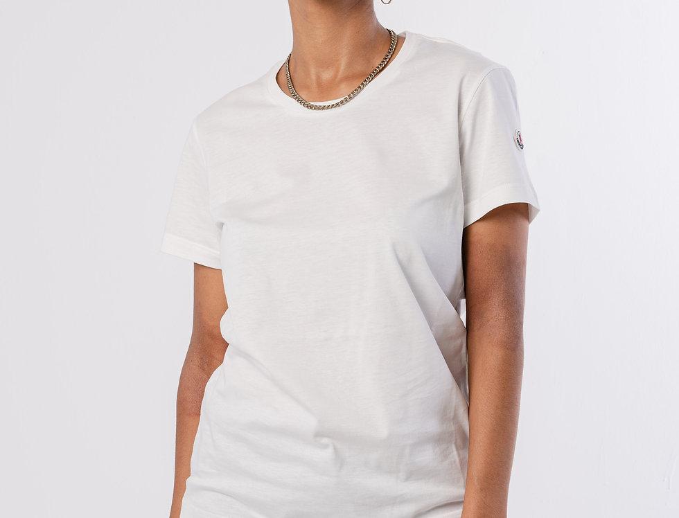 Moncler Ladies T-Shirt In White