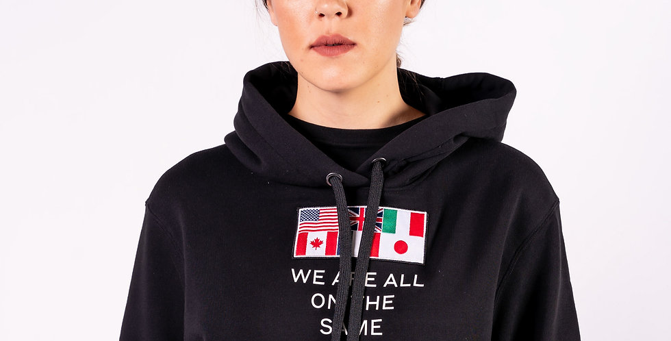 Burberry - Ladies ''We Are All On The Same Planet'' Hoodie