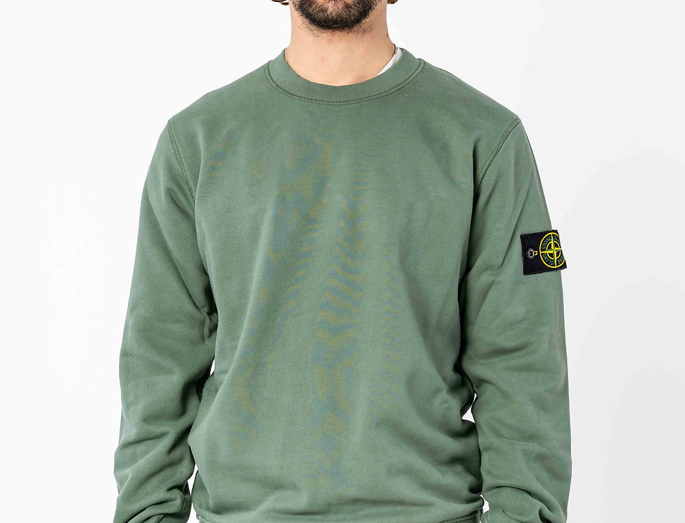 Stone Island Sweatshirt In Green