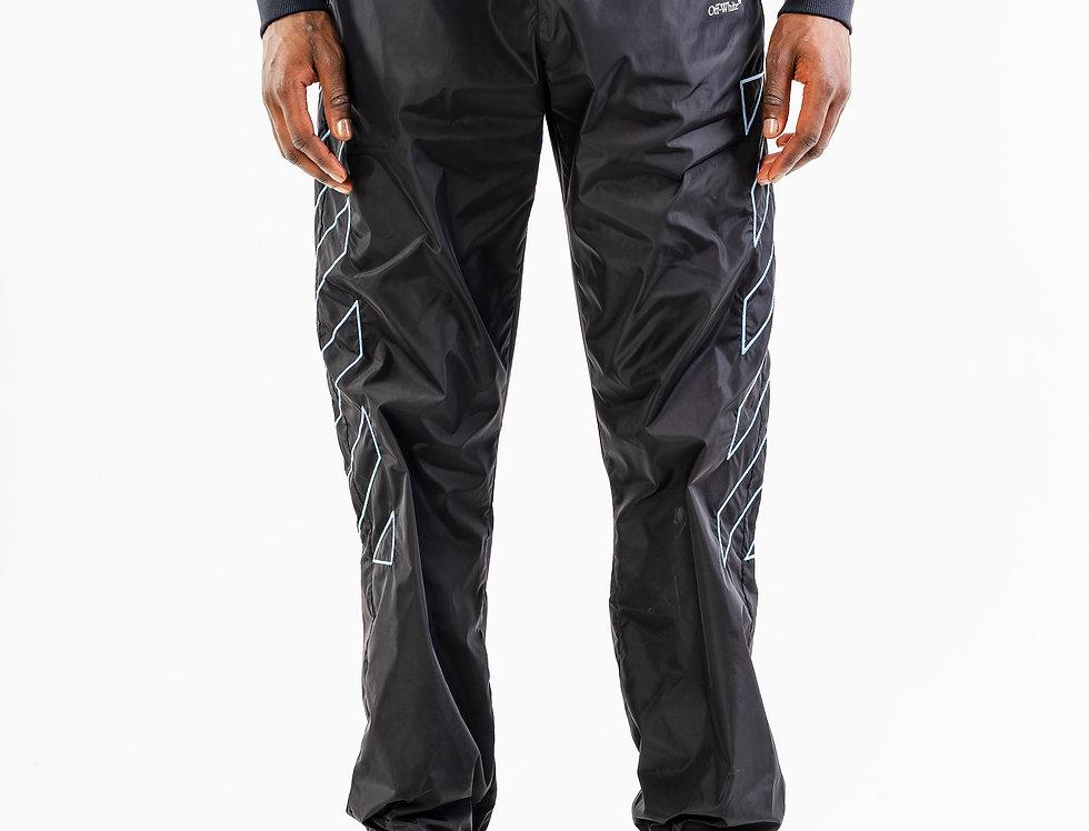 OFF-WHITE™️ AW20 Blue Diagonals Nylon Track Pants