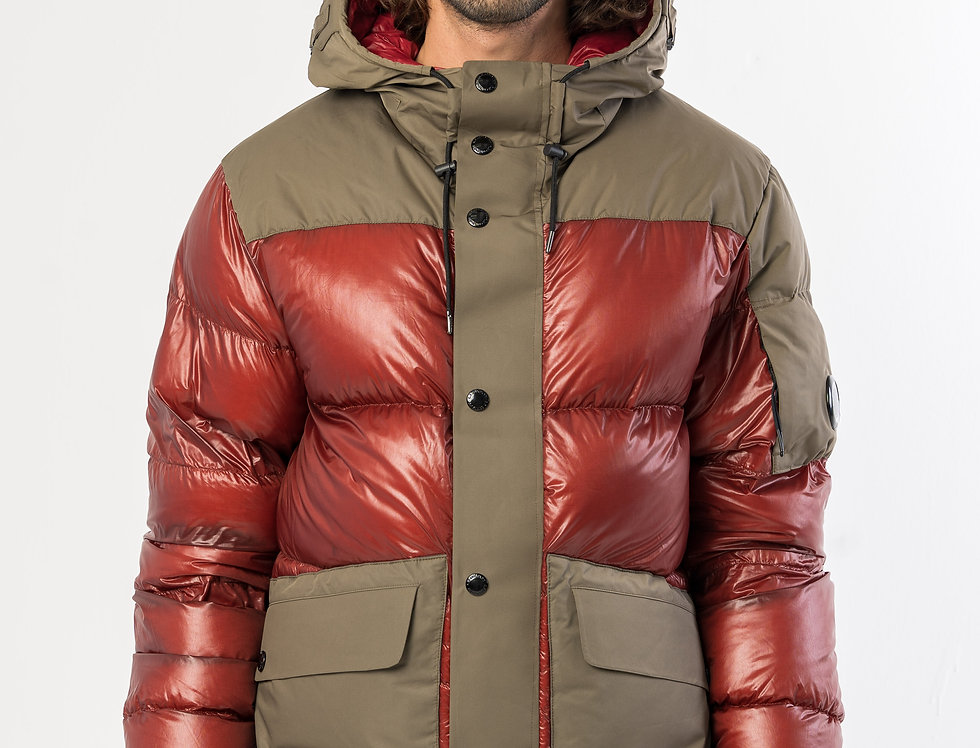 C.P. Company DD Shell Jacket In Red