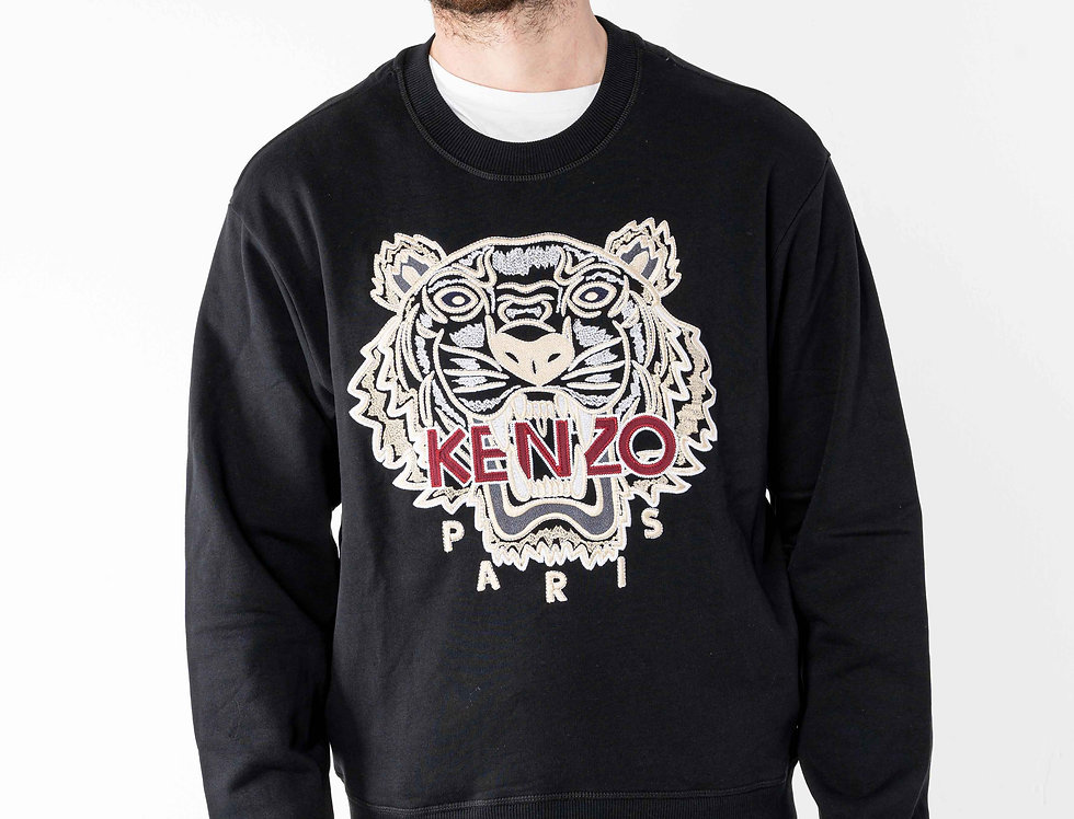 Kenzo 'Tiger' Sweatshirt In White