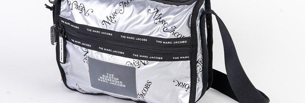 Marc Jacobs Silver Laptop Bag