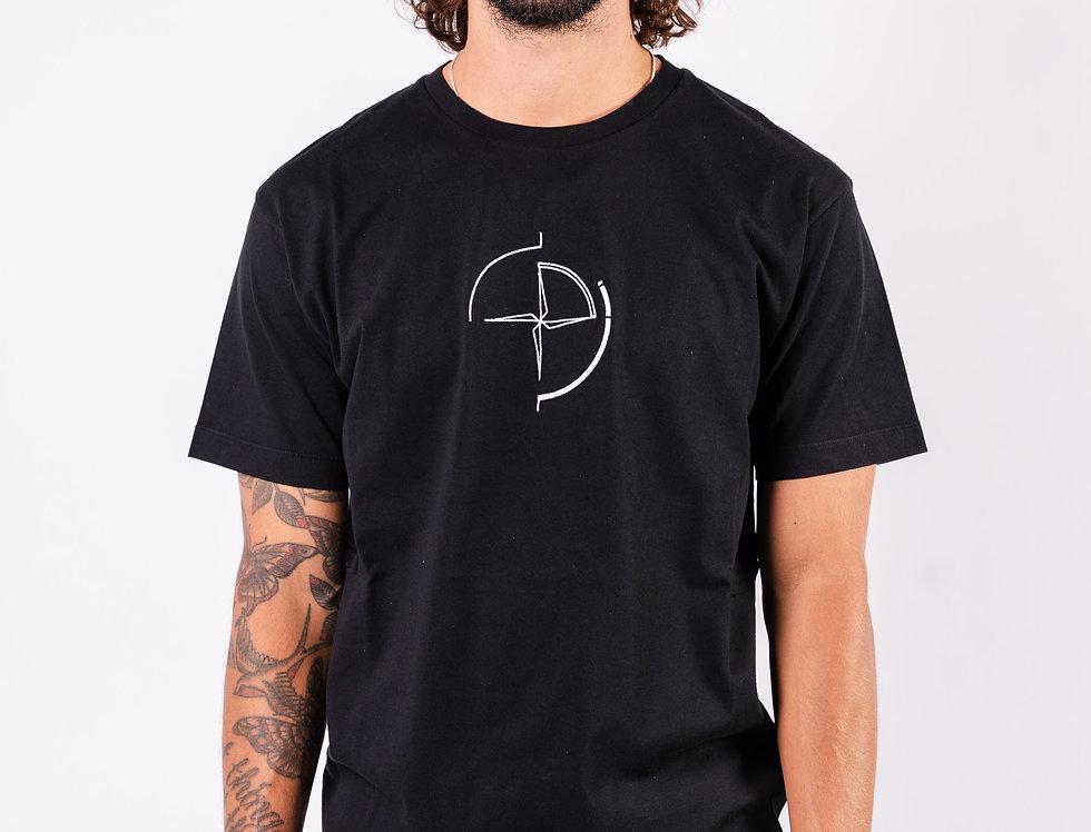 Stone Island SS20 Black Graphic Print T-Shirt