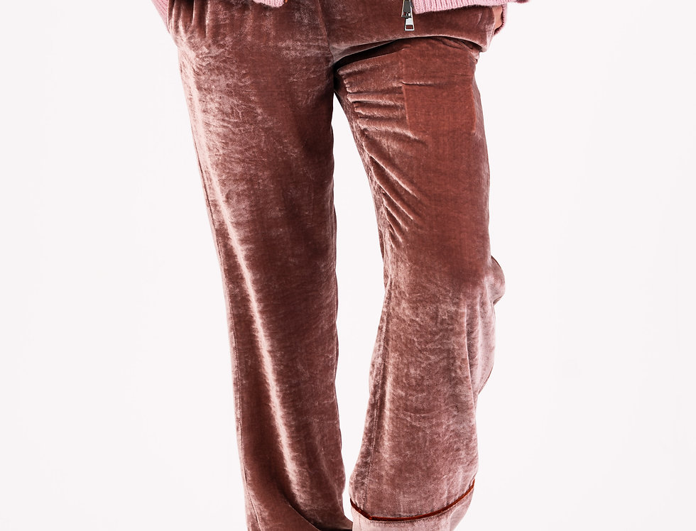 Moncler Velour Trousers front view