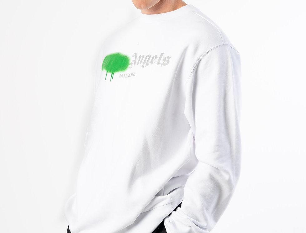 Palm Angels  Sweatshirt In White