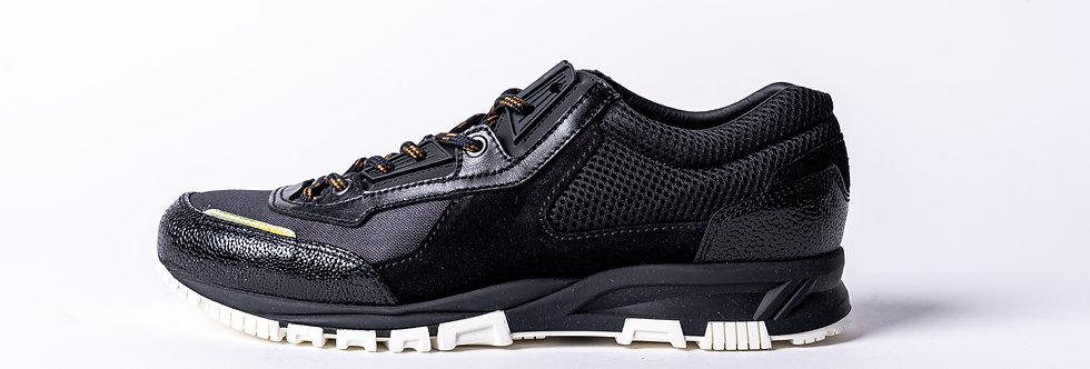 Lanvin Runner Sneaker In Black side view