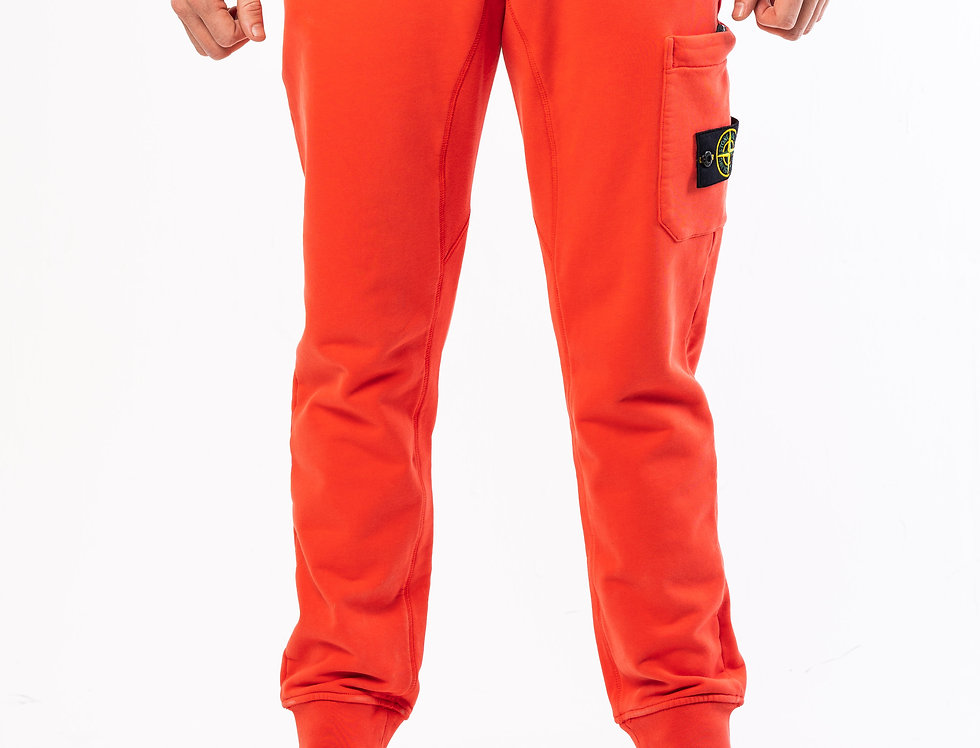 Stone Island Sweatpants  In Orange