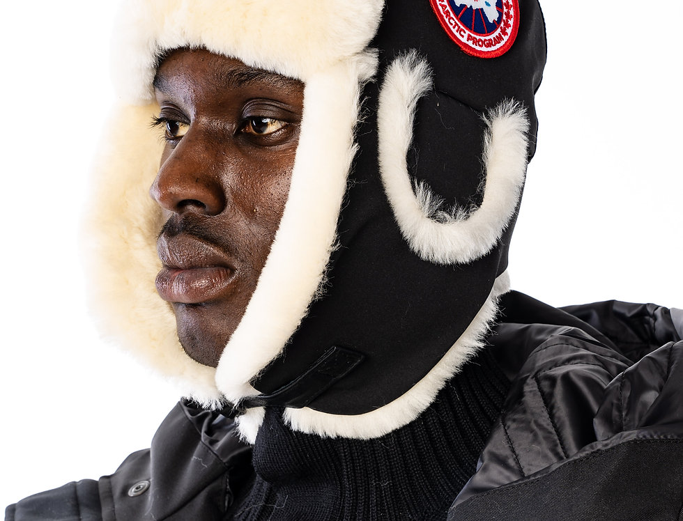 Canada Goose - Shearling Pilot In Black