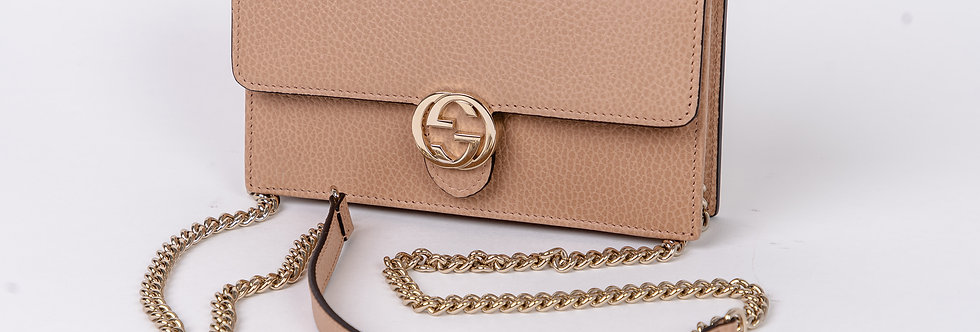 Gucci Crossbody In Nude