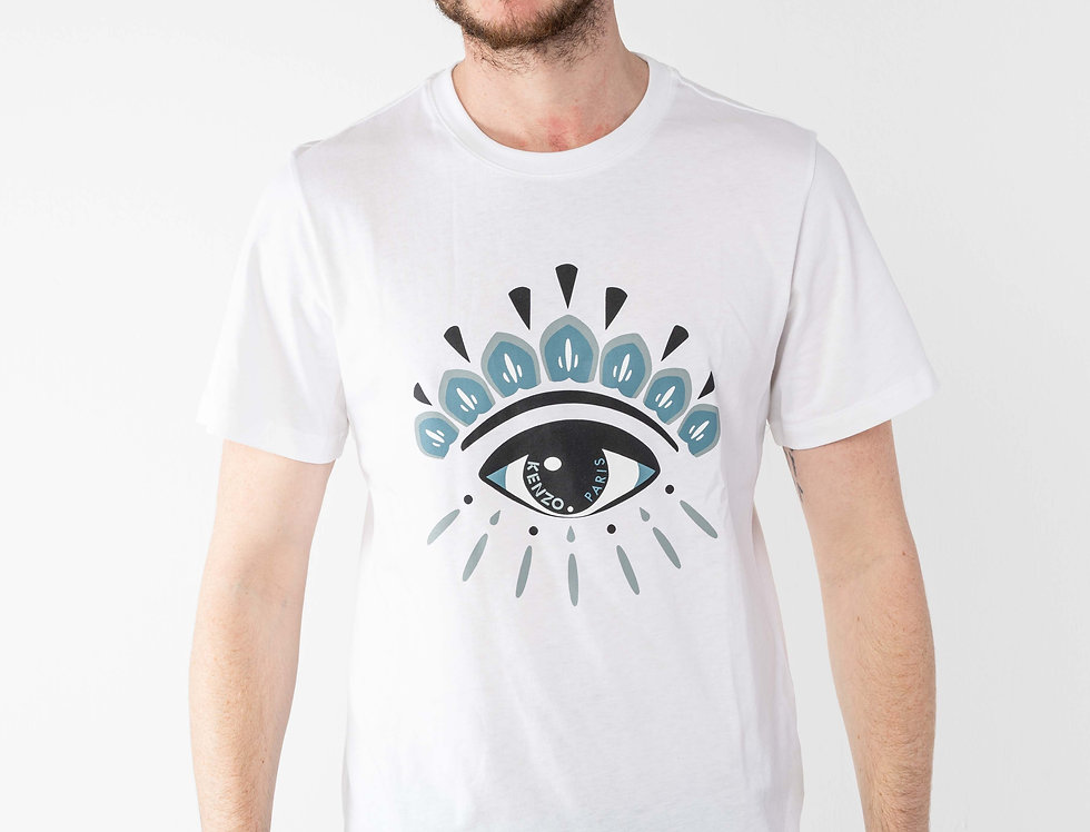 """Kenzo White """"Eye"""" Tshirt"""
