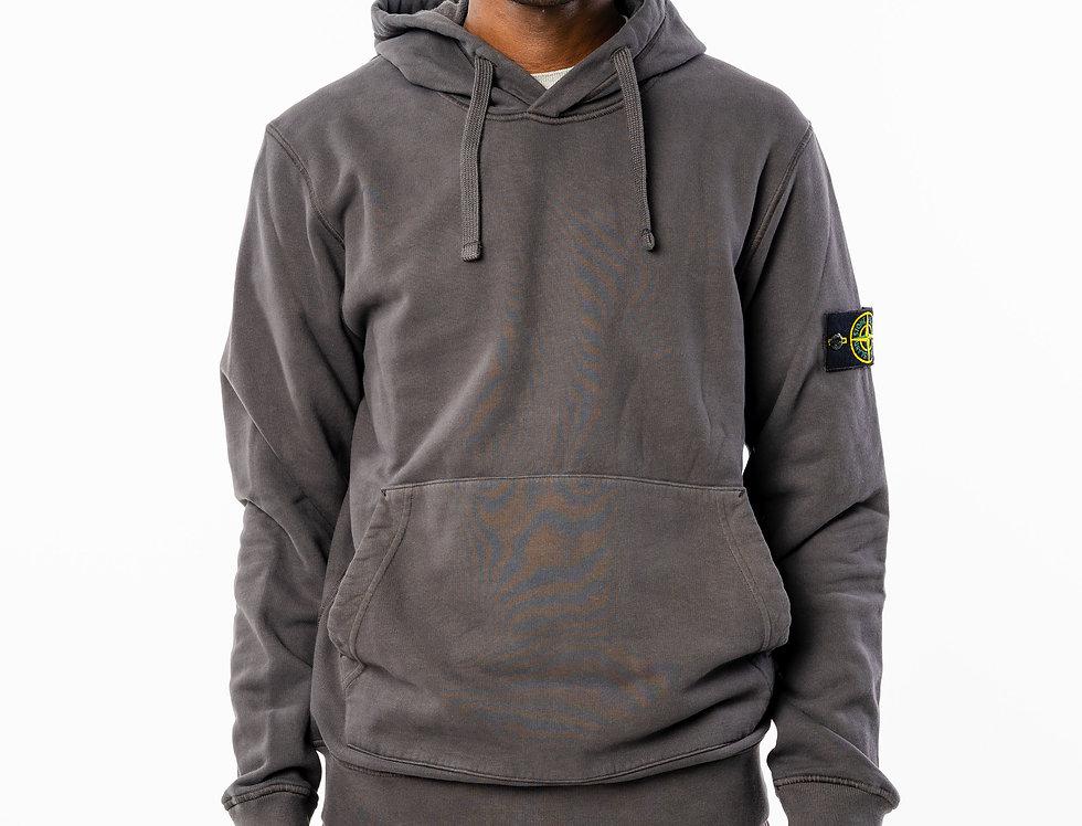 Stone Island Charcoal grey Hooded Sweatshirt