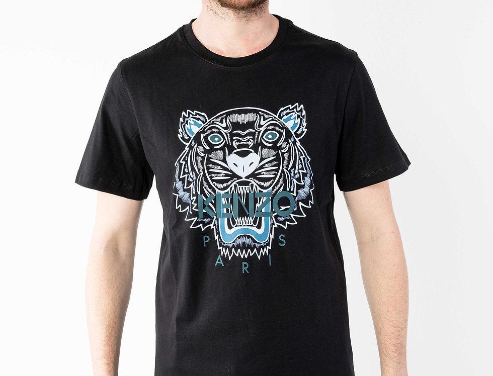 """Kenzo Blue """"Tiger"""" Tshirt"""