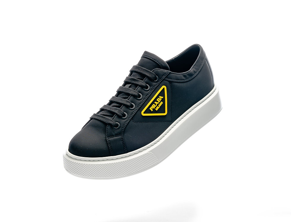 Prada Logo Patch Low Tops