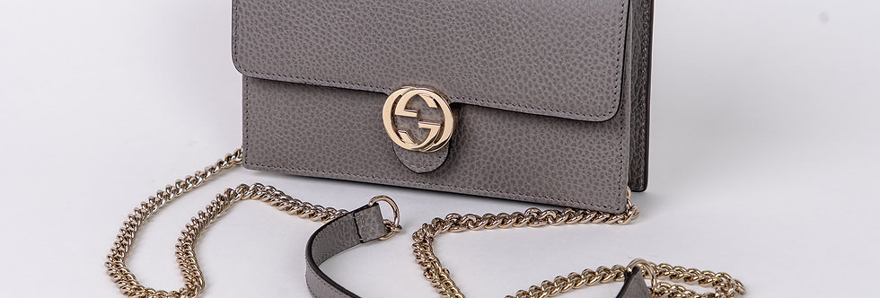 Front view of Gucci bag