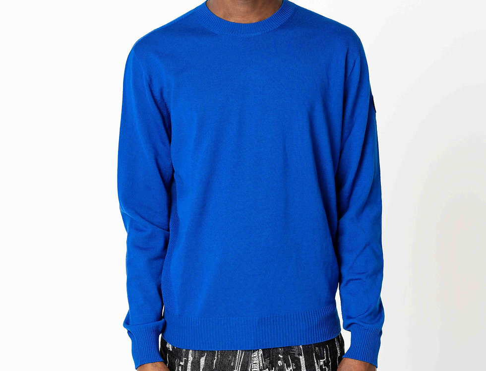 Canada Goose Fraser Crew Neck Sweater In Pacific Blue