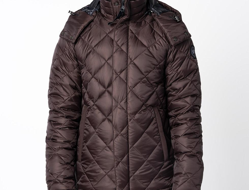 Canada Goose Hendriksen Coat In Carbon