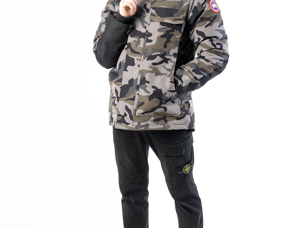Canada Goose Forester Jacket In Camo