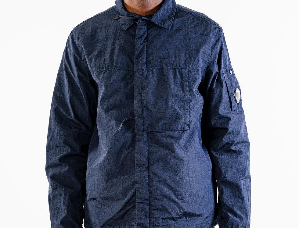 C.P. Company Nylon Overshirt In Navy