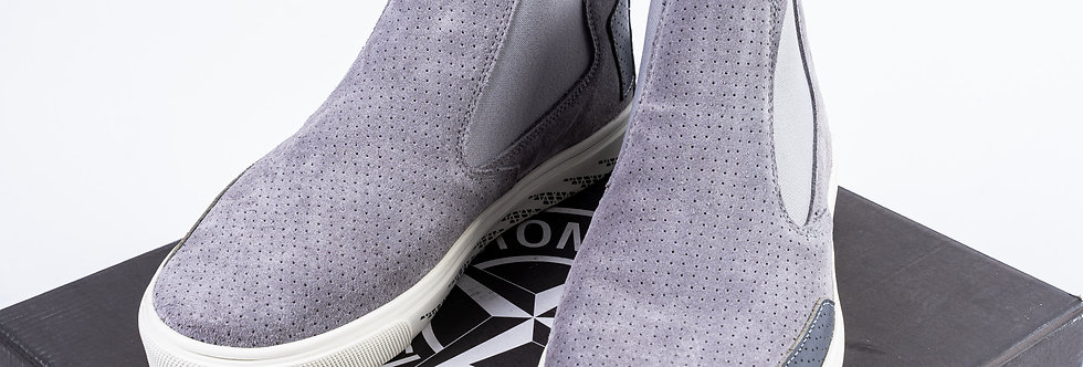 Stone Island Shadow Project Trainers In Grey front view