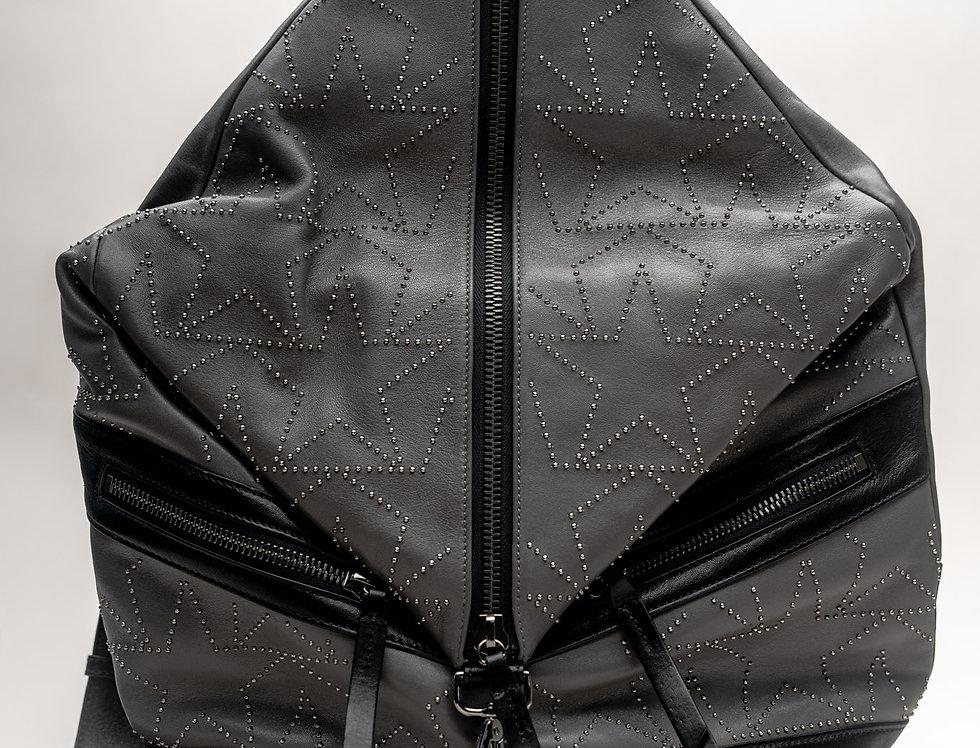 Jimmy Choo Men's Fitzroy Backpack In Dark Grey