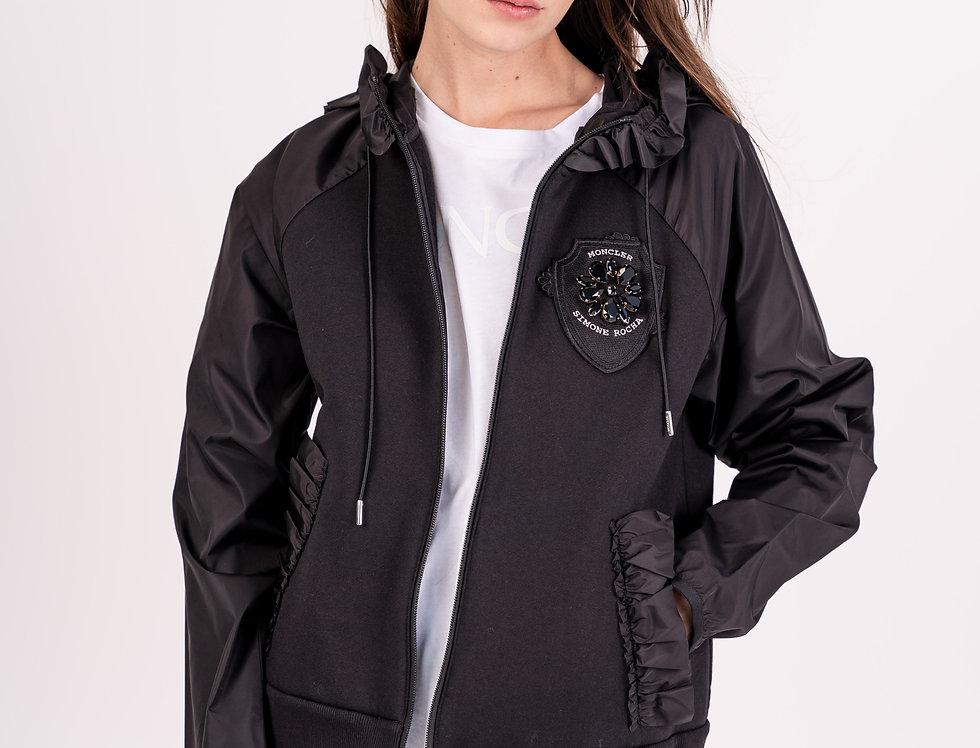 Moncler X Simone Rocha Jacket In Black