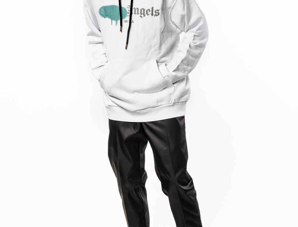 Palm Angels Oversized Sweatshirt White front view