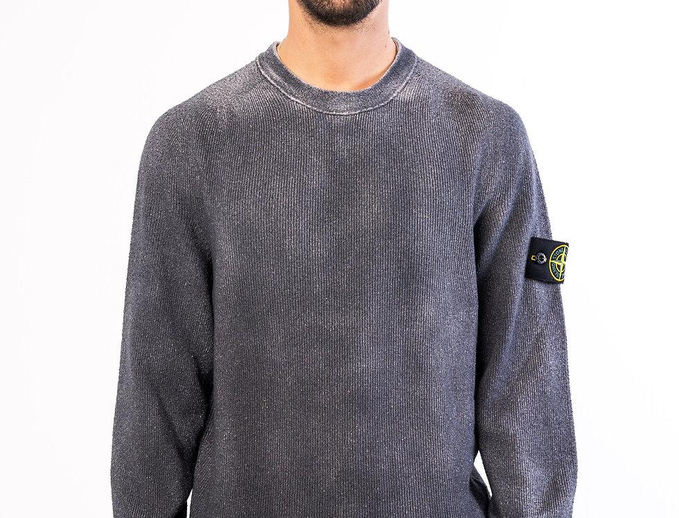 Stone Island sweater In Two-Toned Grey