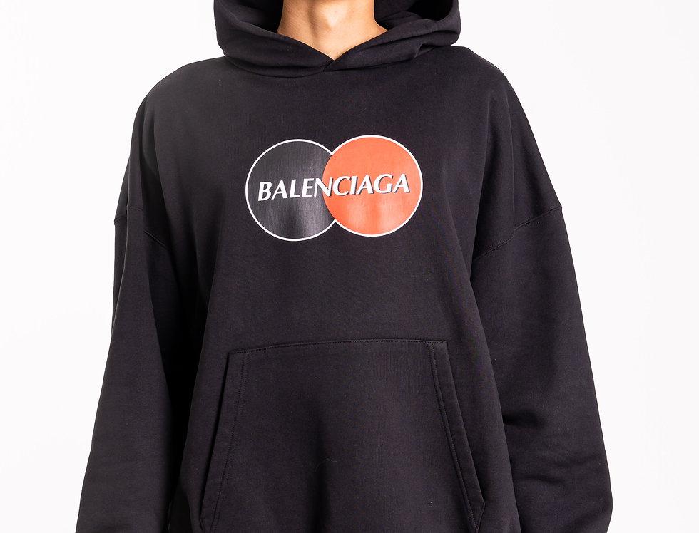 Balenciaga - Mens Hooded Sweatshirt In Black